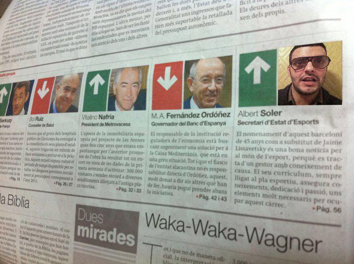 Semàfor verd per l'Albert Soler a El Periódico de Catalunya