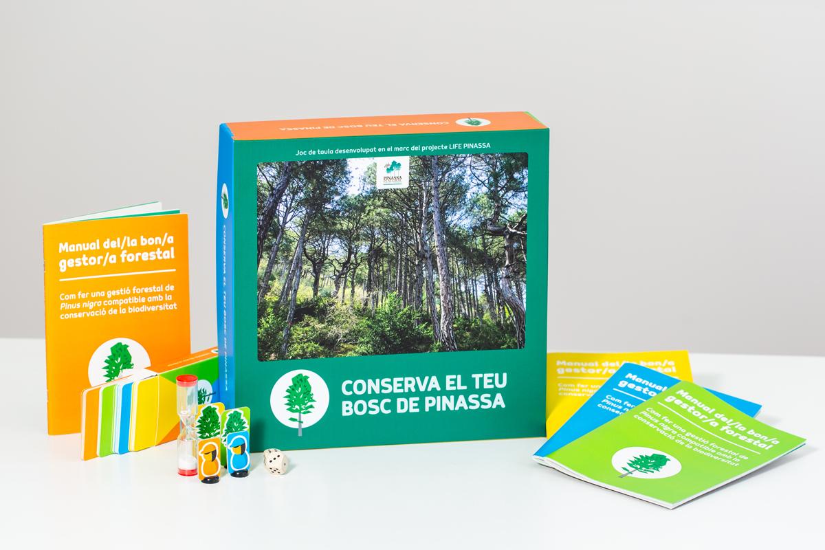 Conserva el teu bosc de pinassa. Joc educatiu | Servei Educatiu del Solsonès